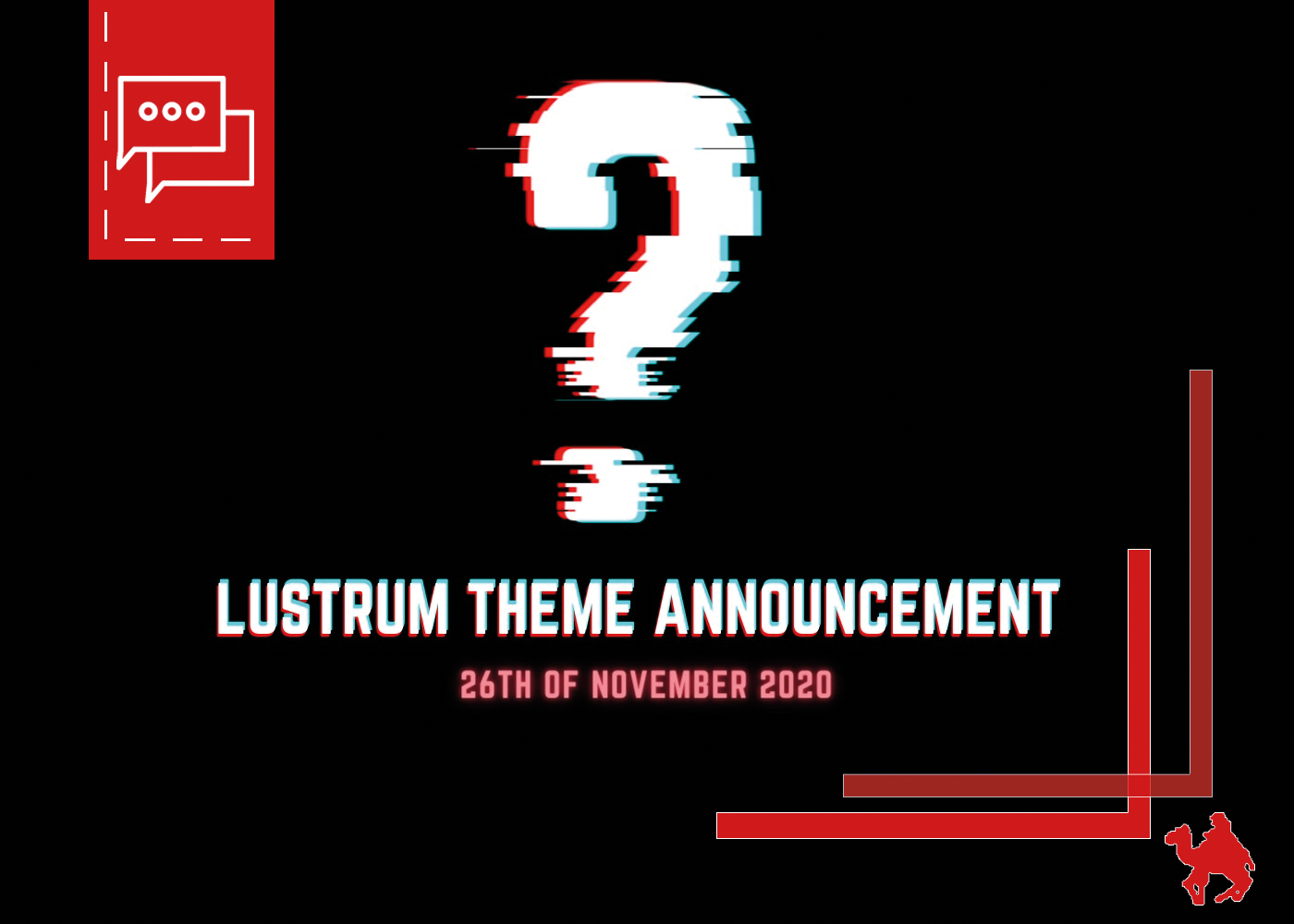 Lustrum Theme Announcement Pre-Party