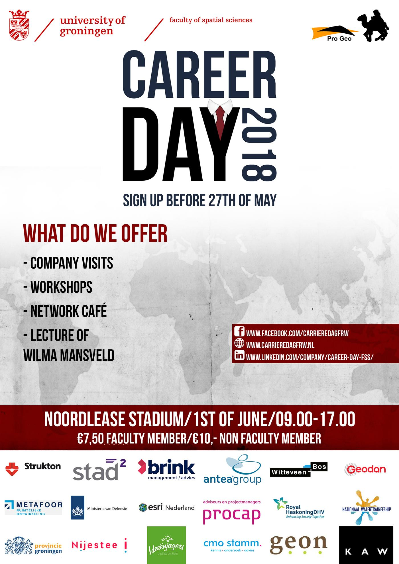 Career Day FSS 1st of June