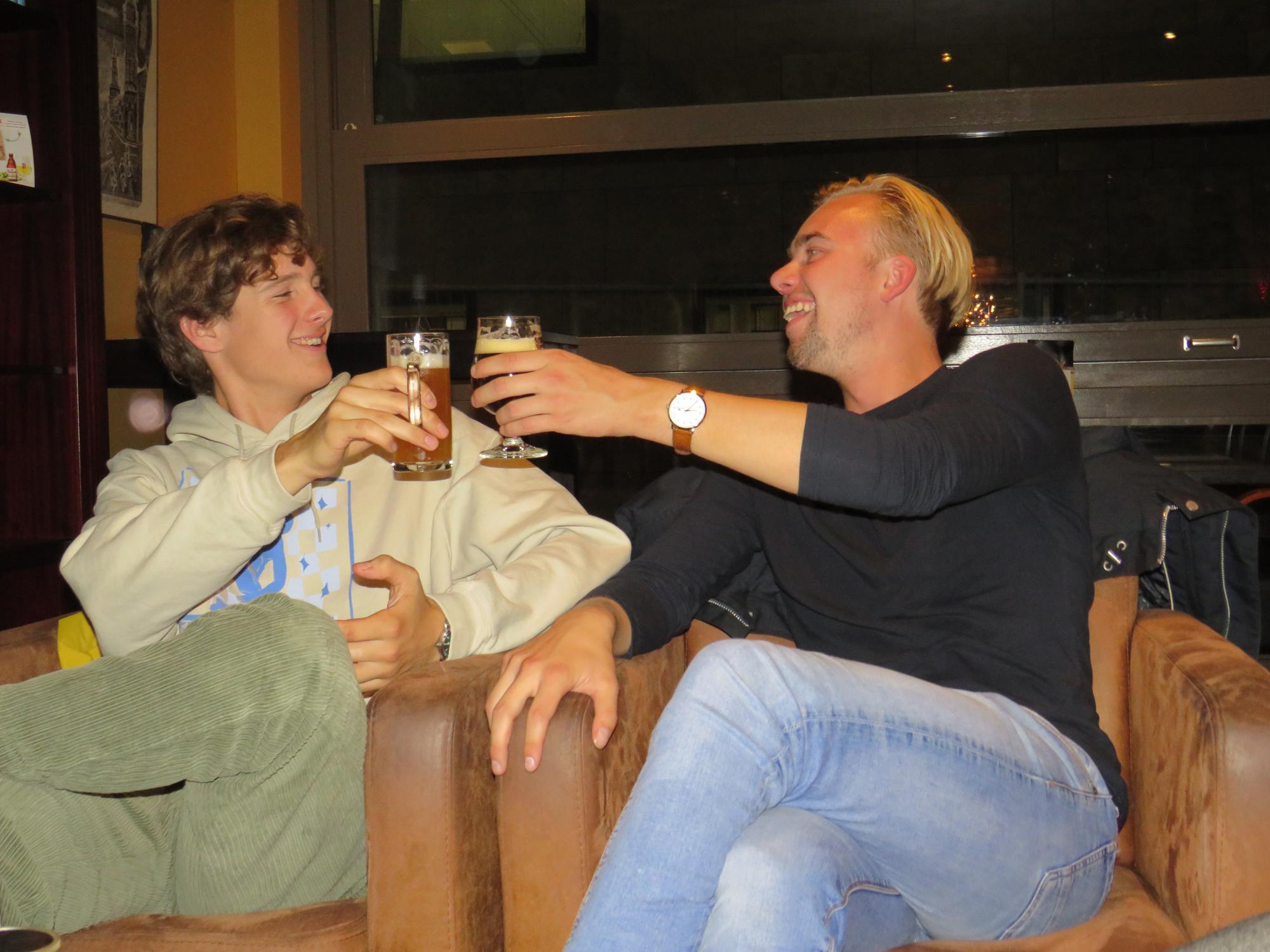 Beertasting with Veni Vidi FYCi