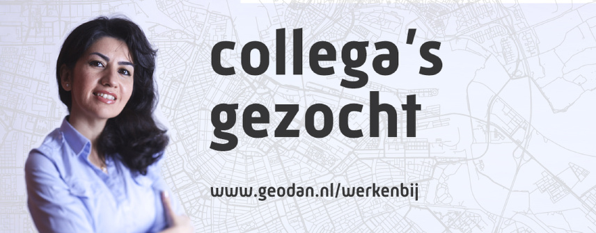 Geodan is looking for a GIS-trainee