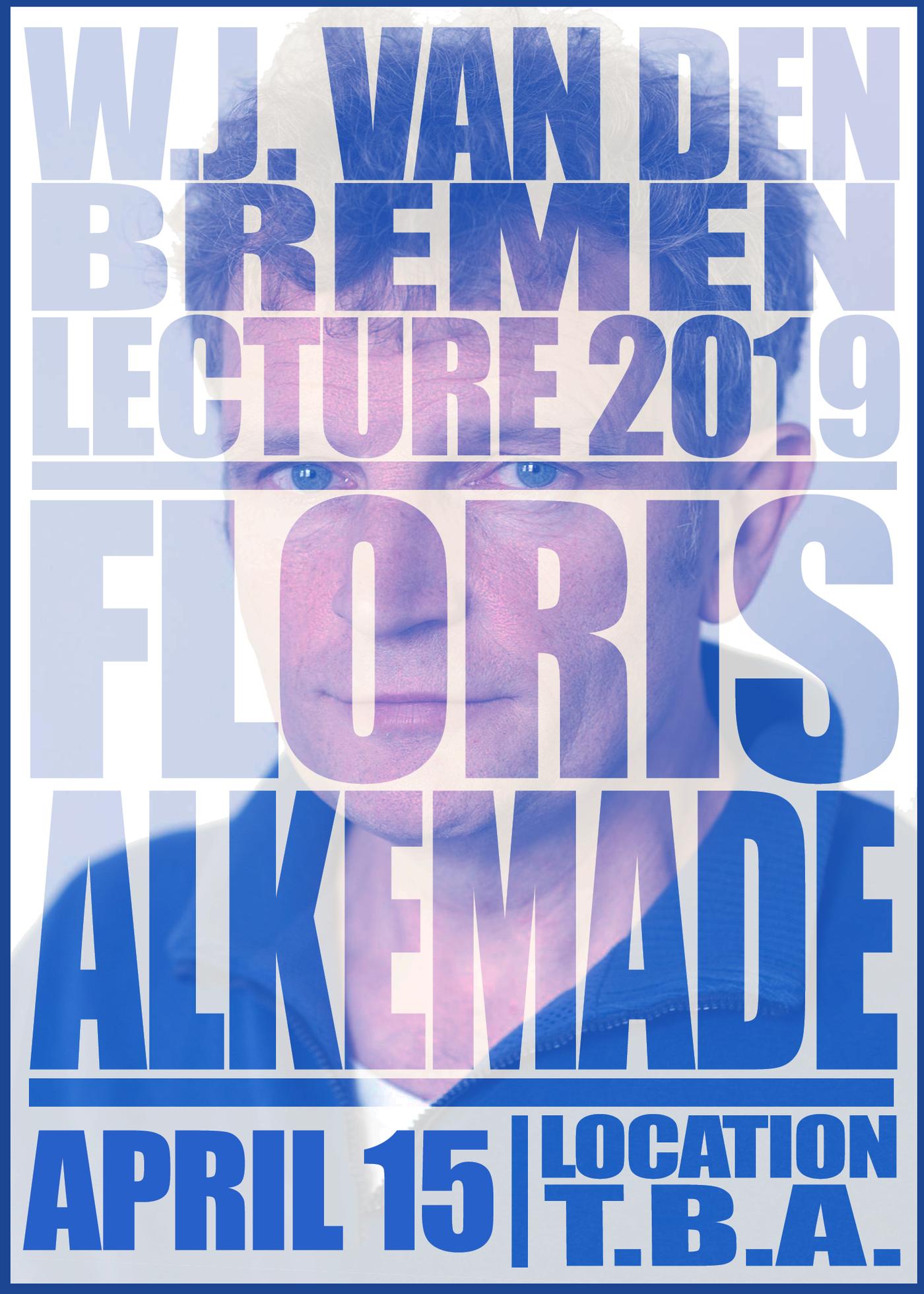 W.J. van den Bremen lecture - Floris Alkemade